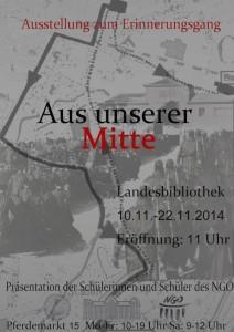 Handzettel-Marie-Luhmann-Erinnerungsgangplakat