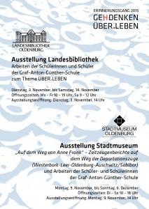 Ausstellungen 2015